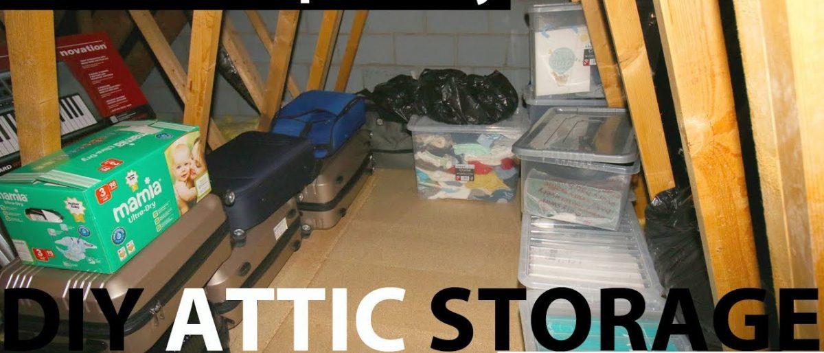 DIY Loft Storage under £100