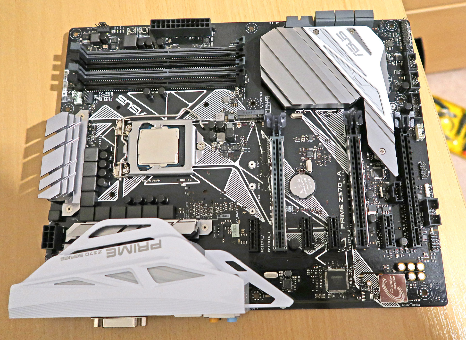 Asus Z370 Prime-A Motherboard - Suitable for Intel i7 8700K