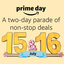 Prime Day 15th and 16th July