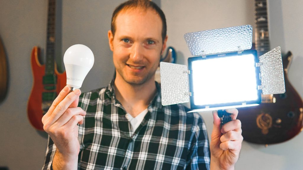 Improve your Video Lighting on a small budget
